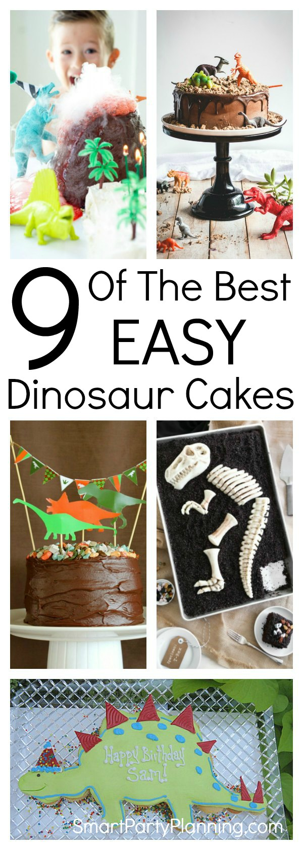Learn how to make easy dinosaur cakes for a birthday the kids will remember forever. With simple ideas and tutorials, you will have just as much fun making the cake as the kids will eating it. It's easier than you think to make an impressive DIY cake.
