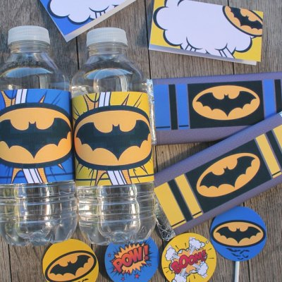 Free Batman Printables your little Superheroes will love