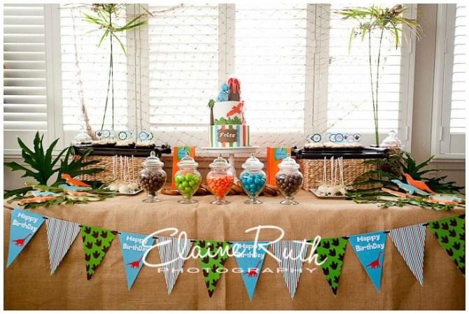 Dino Stomp Party