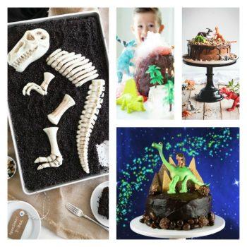 Easy dinosaur cakes