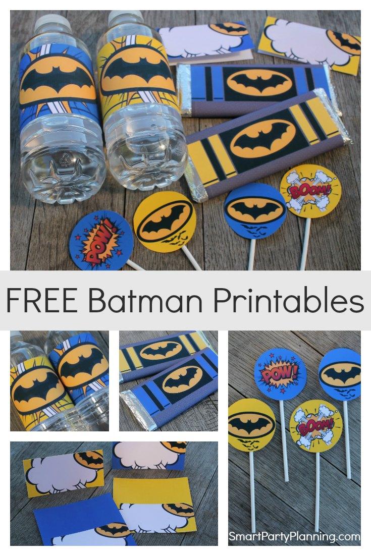 Free Batman Printables