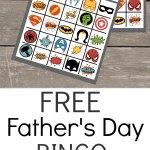 Free Fathers Day Bingo