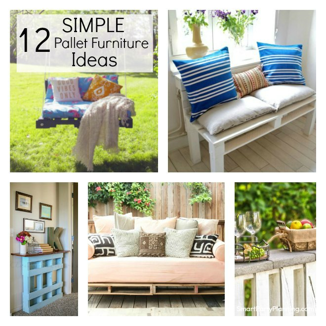 Simple pallet furniture ideas