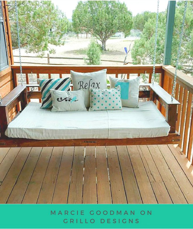 How to make pallet furniture 12 ideas you will love - Make outdoor pallet swing step step guide ...