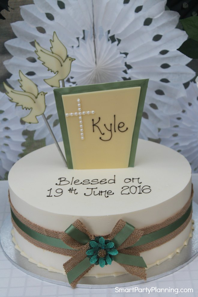 Rustic Blessing Cake