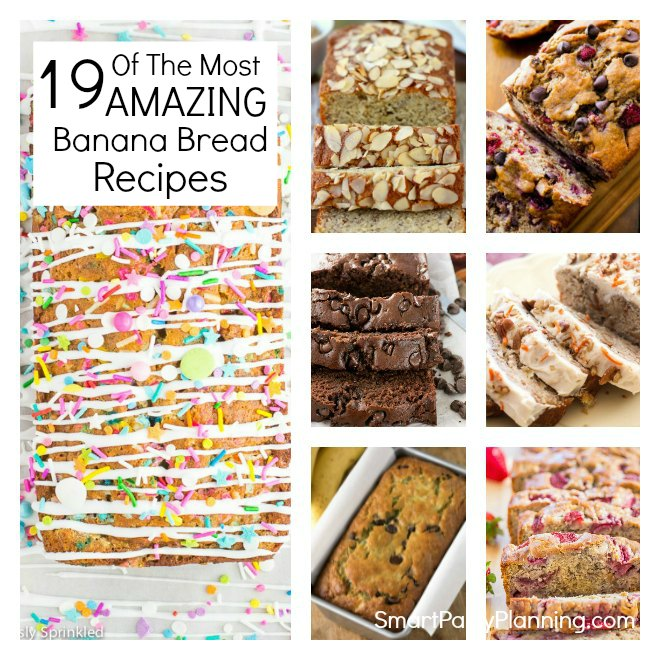 19 of the most amazing banana bread recipes