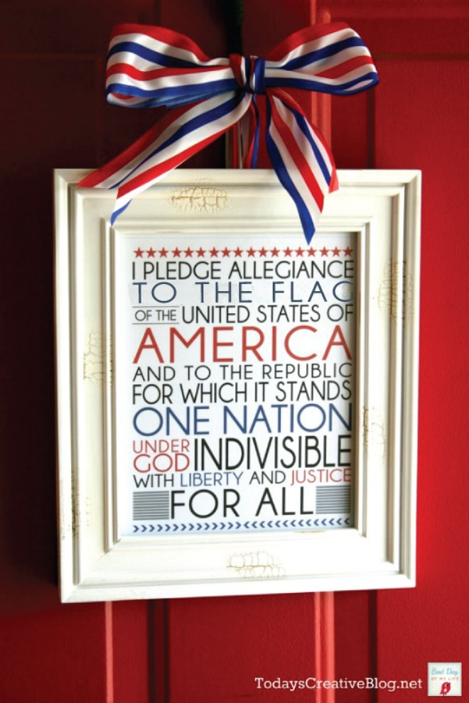 4th July Door Printable