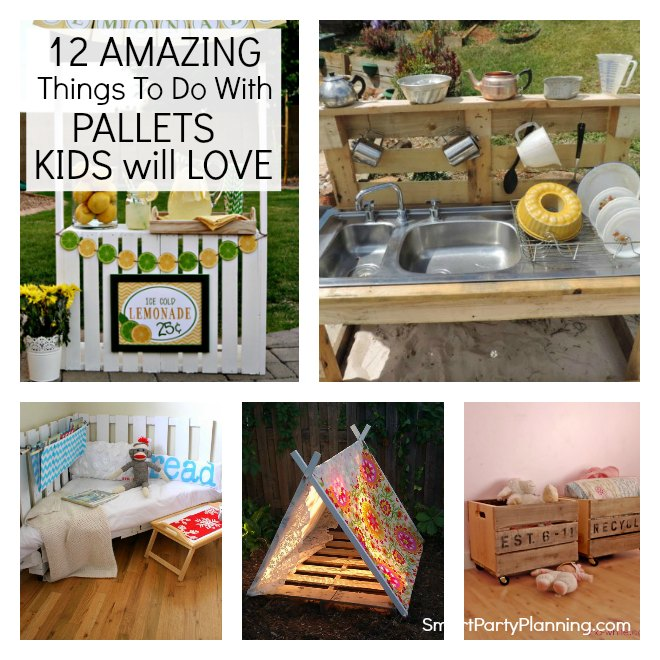 12 amazing things to do with pallets