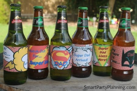 Super Dad Beer Labels