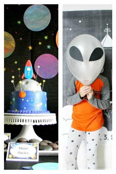 Amazing outer space birthday ideas
