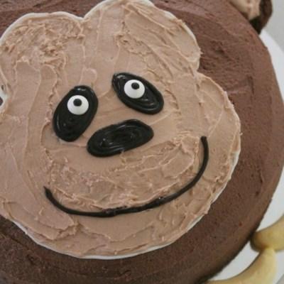 How to Make an Easy Monkey Birthday Cake