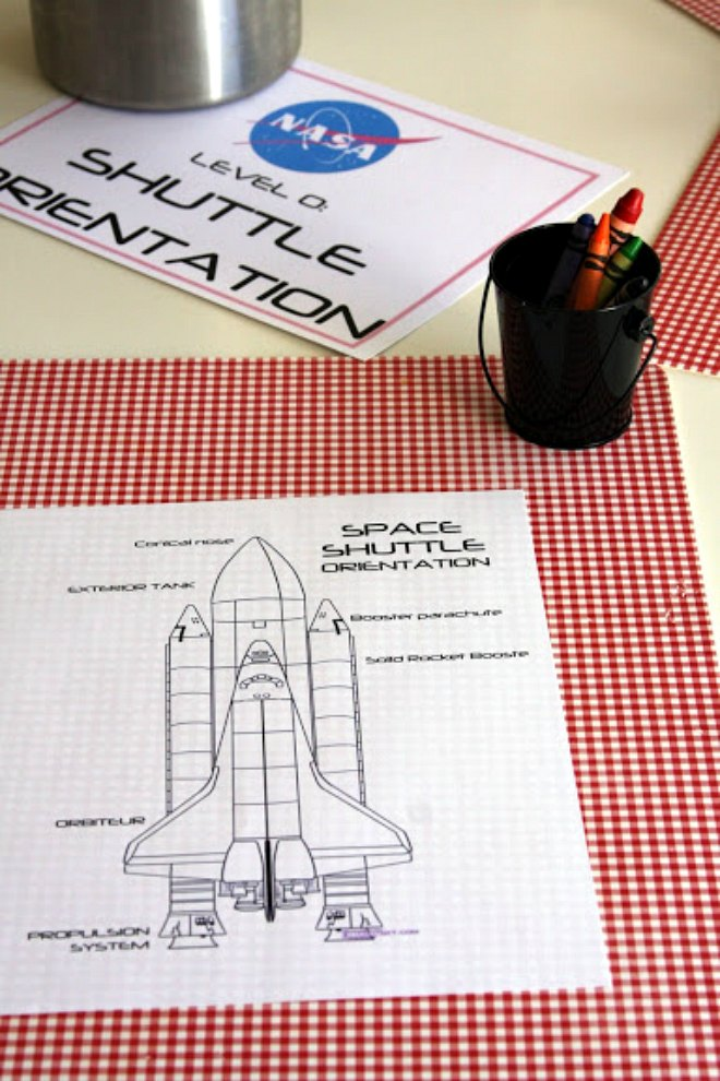 Space Shuttle Games