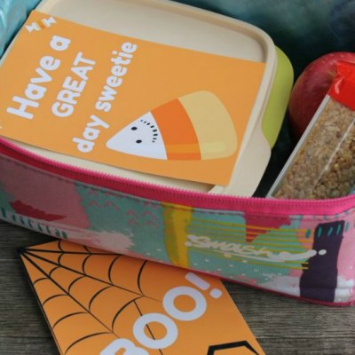 Halloween Lunch Box Notes That will Brighten up your Child's Day