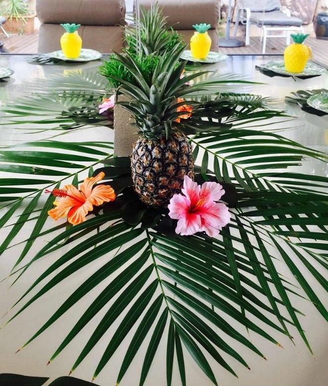 Pineapple decorations