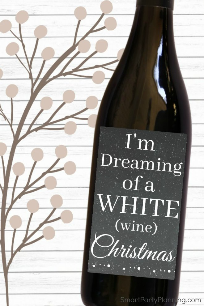 Dreaming of a white chirstmas gift