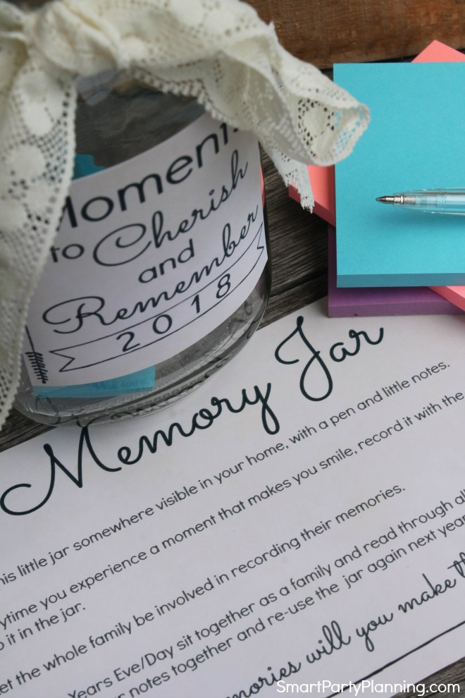 How to use a memory jar How