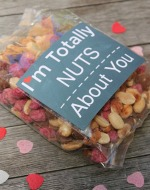 Valentine printable Totally Nuts About You