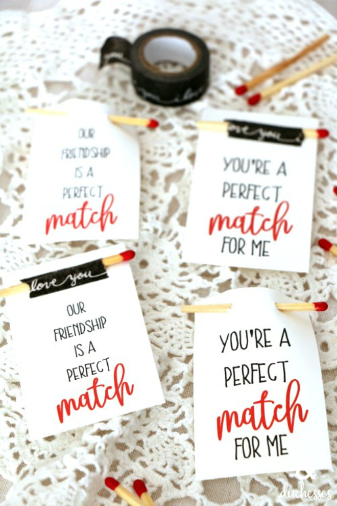 Perfect match printable