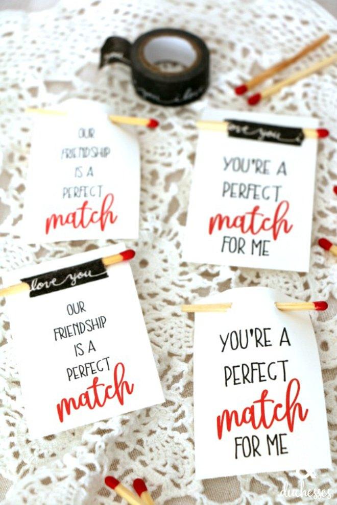 Perfect match printable