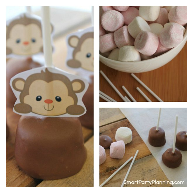 Easy Monkey Pops