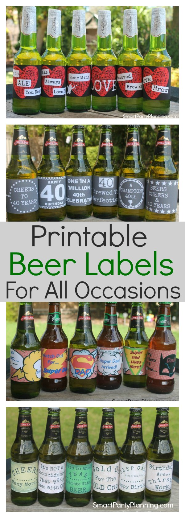 Printable Beer Labels