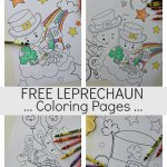 Free Fun Leprechaun Coloring Pages