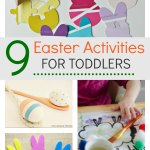 9 Easter activities for toddlers