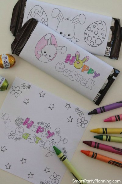 The Most Exciting Free Easter Printable Candy Bar Wrappers