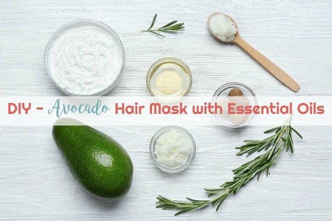Avocado Mask With Essential Oils