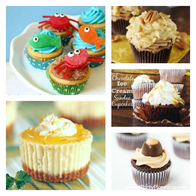14 Father's day cupcakes