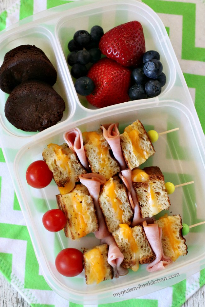 Grilled Cheese Kabobs