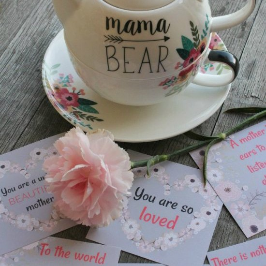 printable love notes for mom for mothers day