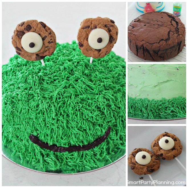 How to easily make a monster cake