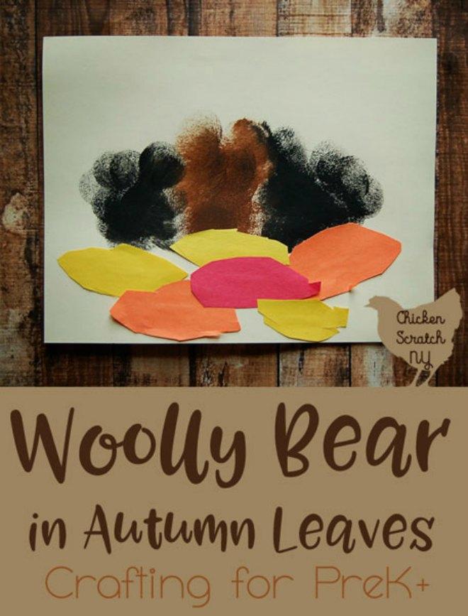 Wooly bear craft