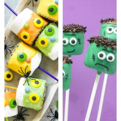 8 Of The Best Quick And Easy Halloween Marshmallow Pops