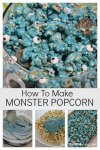How to make monster popcorn