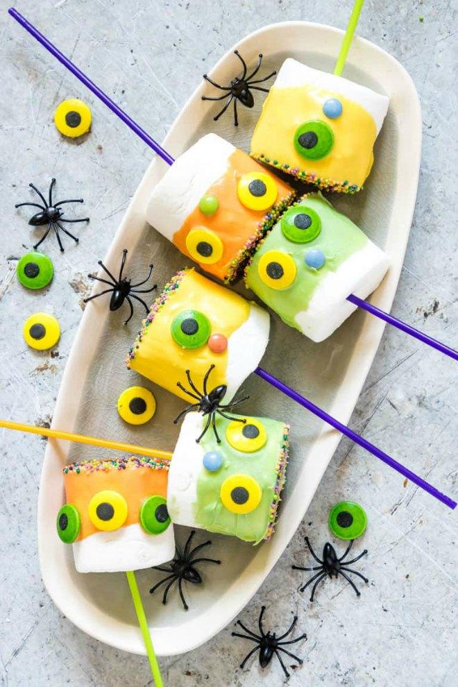 Monster Halloween-Marshmallow-Pops