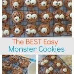 The best easy monster cookies