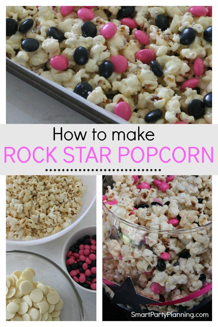 How to make rock star popcorn