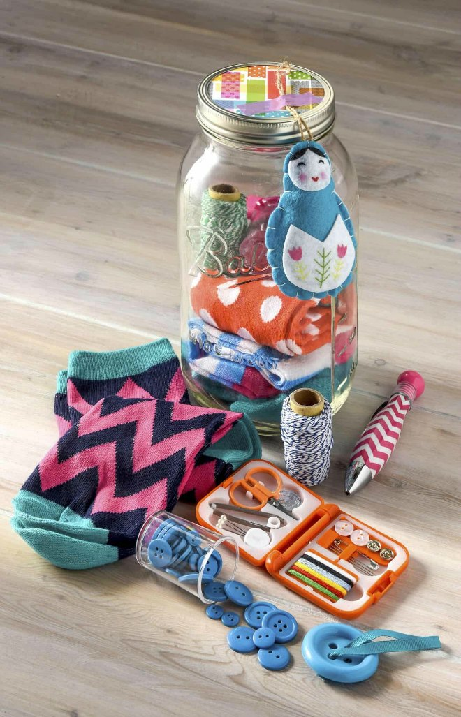 Crafty mason jar