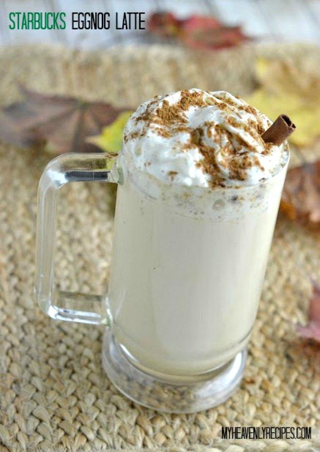 Starbucks Eggnog