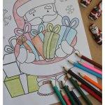 Free Santa Coloring Sheets