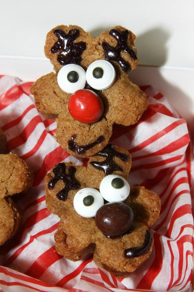 gingerbread reindeer cakes