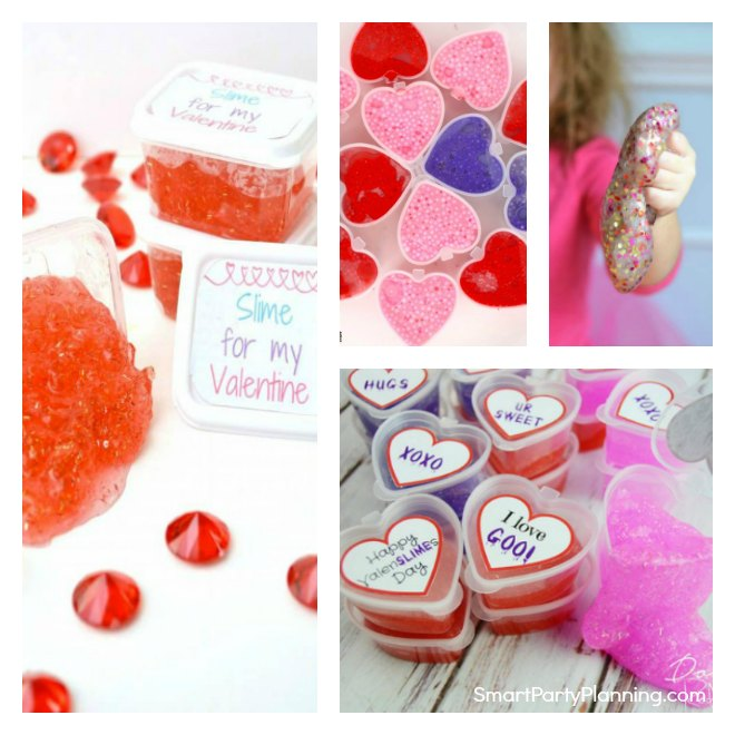 6 Valentine Slime Recipes