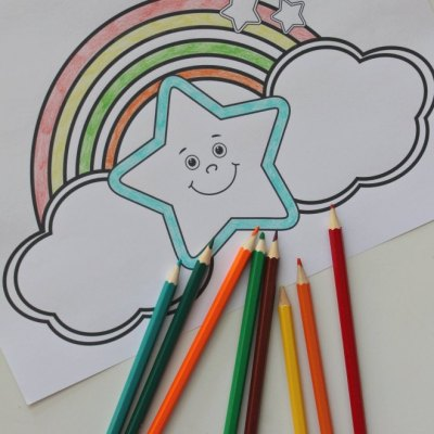 The Best Free Rainbow Coloring Pages