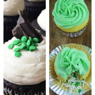 14 of The Best Easy St Patrick's Day Cupcakes