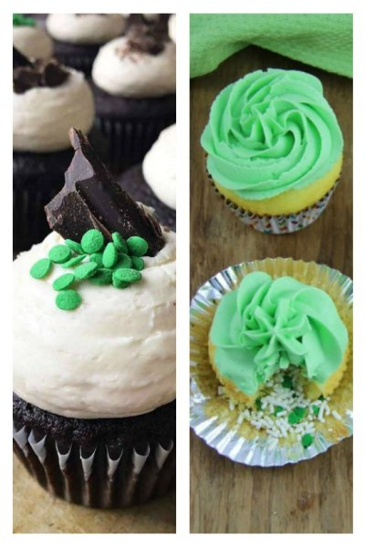 Super easy St Patricks Day Cupcakes