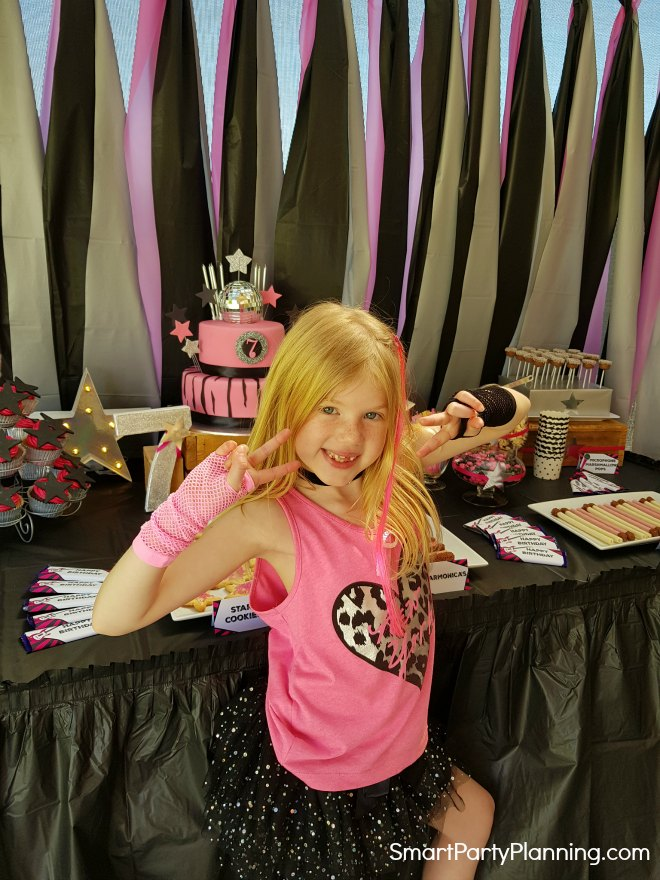 Girls Rock Star Party