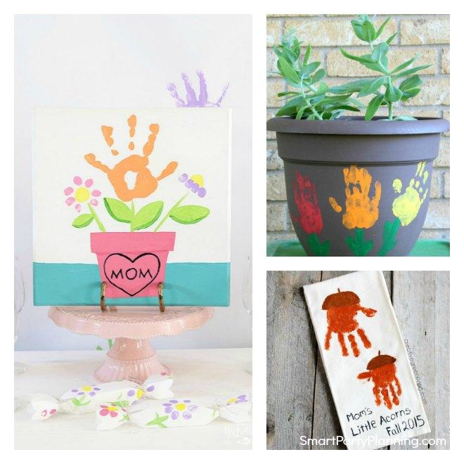Handprint Crafts Mom Will Love
