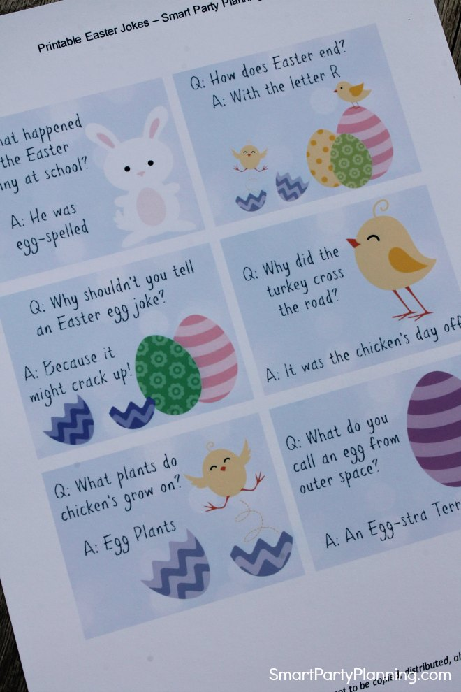 Printable Easter Jokes